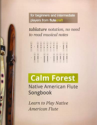 9788364699146: Calm Forest: Native American Flute Songbook