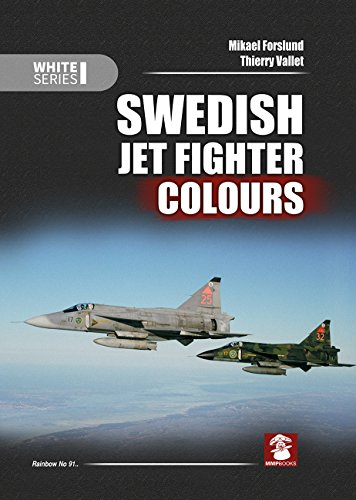 9788365281012: Swedish Jet Fighter Colours