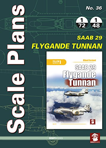 Scale Plans No. 36. SAAB 29 Flygande
