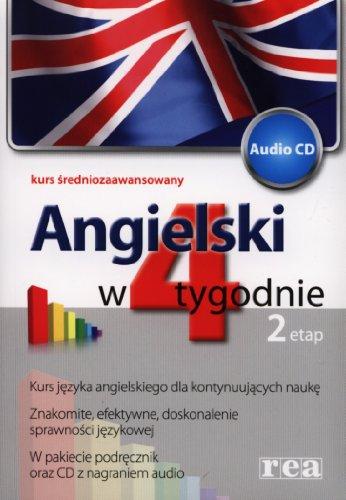 9788371416873: Angielski w 4 tygodnie Etap 2 + CD