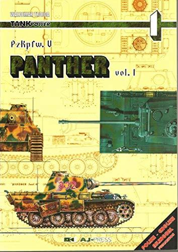 9788372370129: PzKpfw. V Panther Vol. 1
