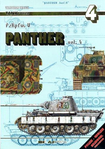 9788372370518: PzKpfw V Panther Vol. 4