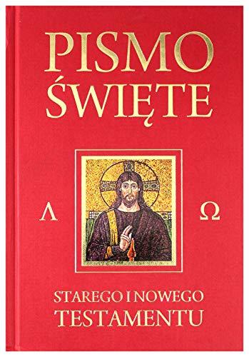 9788373008519: Polish Bible: Old & New Testaments, Black Hardcover with Jesus Portrait / Translated from Greek / Pismo Swiete: Starego I Nowego Testamentu
