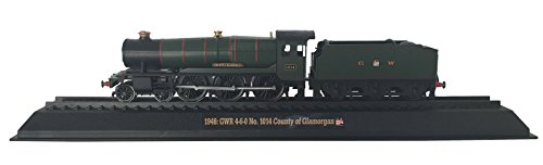 9788373853713: GWR 4-6-0 No. 1014 County of Glamorgan - 1946 Diecast 1:76 Scale Locomotive Model (Amercom OO-36)