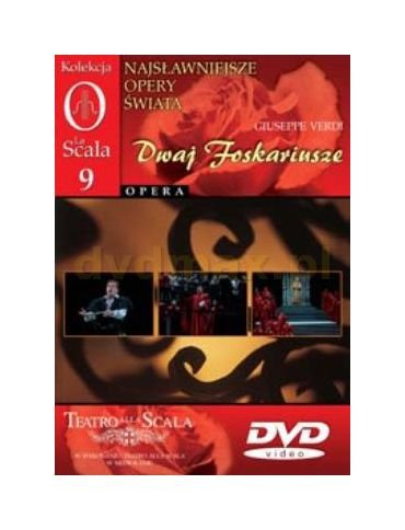 9788374254687: Kolekcja La Scala: Opera 09 - Dwaj Foskariusze [DVD] (No English version)