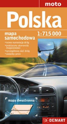 Polska. Mapa samochodowa. 1: 715 000 Demart