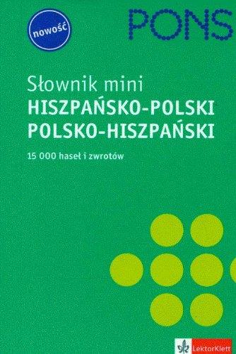 Slownik mini hiszpansko-polski, polsko-hiszpanski