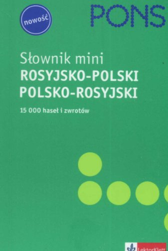 Slownik mini rosyjsko-polski, polsko-rosyjski