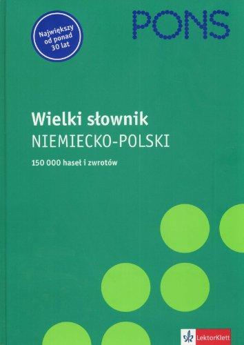 9788374293846: Pons Wielki slownik niemiecko - polski