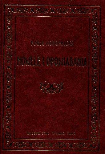Nowele i opowiadania: Konopnicka, Maria