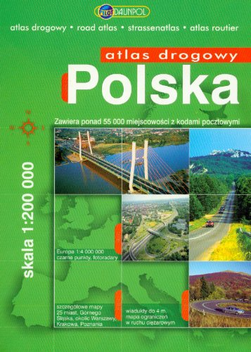 9788374751179: Polska Atlas drogowy