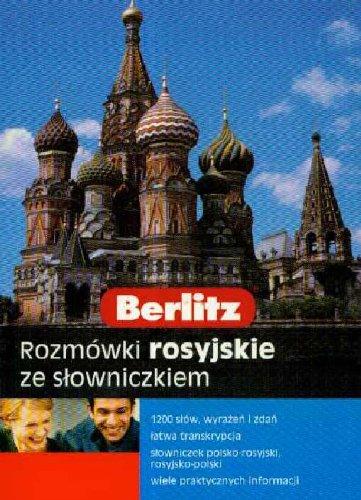 9788374762144: Berlitz Rozmowki rosyjskie ze slowniczkiem