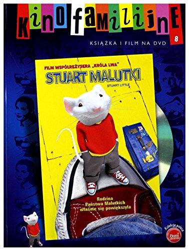9788374776356: Stuart Little [DVD]+[KSIÄ ĹťKA] (English audio. English subtitles)