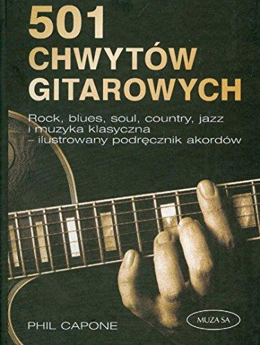 9788374953252: 501 Chwytow gitarowych