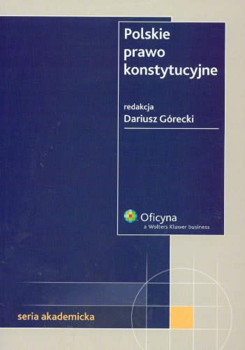 9788375260748: Polskie prawo konstytucyjne