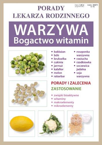 9788375279474: Warzywa Bogactwo witamin: Porady lekarza rodzinnego