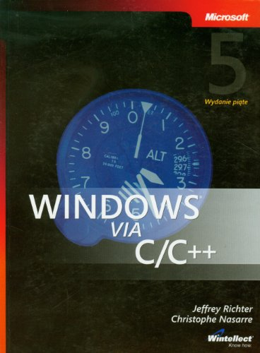 9788375410235: Windows via C/C++