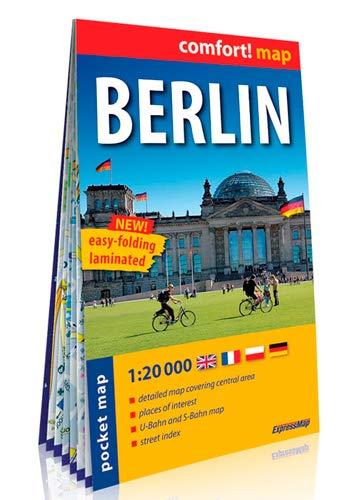 9788375460360: Berlín, plano callejero de bolsillo plastificado. Escala 1:20.00. ExpressMap. (Comfort ! Map)