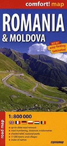 9788375461152: ROUMANIE/MOLDAVIE 1/800.000