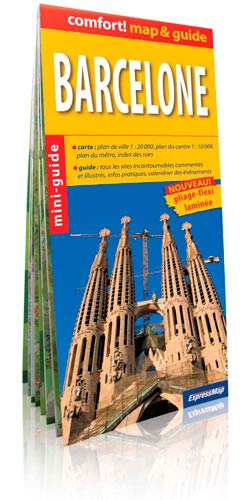 9788375461190: BARCELONE (MAP&GUIDE)