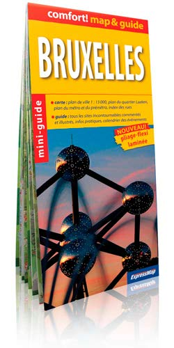 9788375461244: BRUXELLES (MAP&GUIDE)