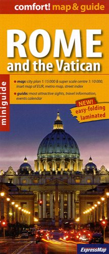 9788375461428: Rome and the Vatican miniguide 2011: EXP.MG546 (Comfort ! Map & guide)