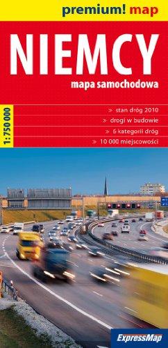 9788375461862: Niemcy mapa samochodowa 1:750 000