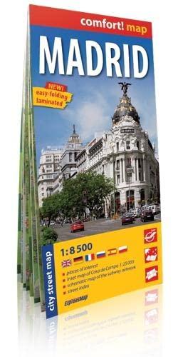 Madrid, plano callejero plastificado. Escala 1:17.500. ExpressMap.: VV.AA.
