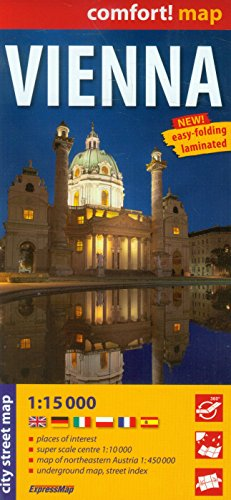 9788375462227: Vienna r/v (r) wp (City Plans)