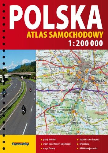 9788375462425: Polska - atlas samochodowy 1:200 000