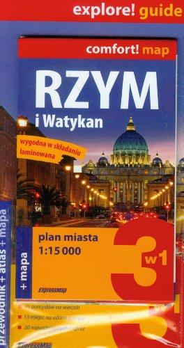9788375463231: Rzym i Watykan Zestaw przewodnikowy z planem miasta