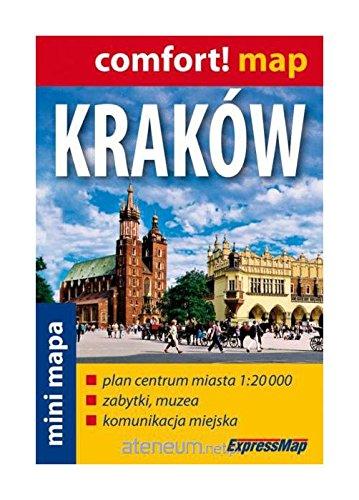 Krakow. Plan miasta mini. 1:20 000 ExpressMap