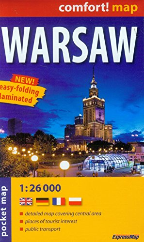 9788375463699: Warsaw r/v (r) wp mini (City Plan Pockets)