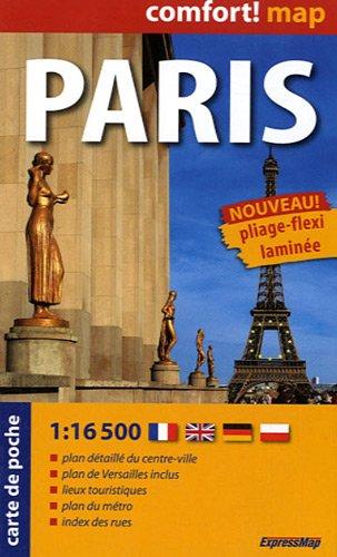9788375463804: Paris : Carte de poche, 1/16 500 (Comfort ! Map)