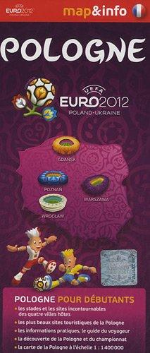 9788375464108: Pologne UEFA euro 2012 (Map&info)