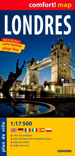 LONDRES CARTE LAMINEE: PLAN DE VILLE