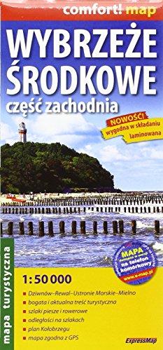 9788375465167: Wybrzeze Srodkowe czesc zachodnia 1 : 50 000: Ostseeküste - westlicher Teil