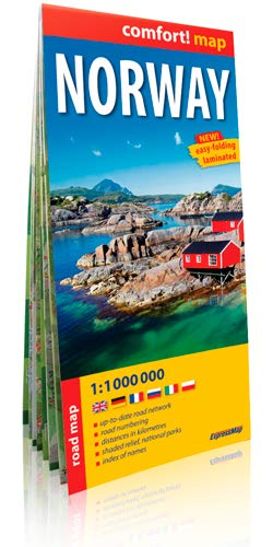 9788375465235: Norway : 1/1 000 000 (Comfort ! Map)