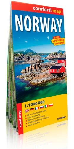 9788375465235: NORWAY 1/1M (ANGLAIS)