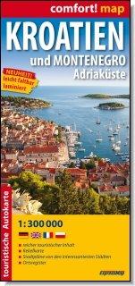 9788375465259: Kroatien und Montenegro. Adriak�ste