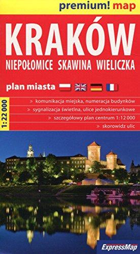 Krakow. Niepolomice. Skawina. Wieliczka. Plan Miasta.1:22 000.