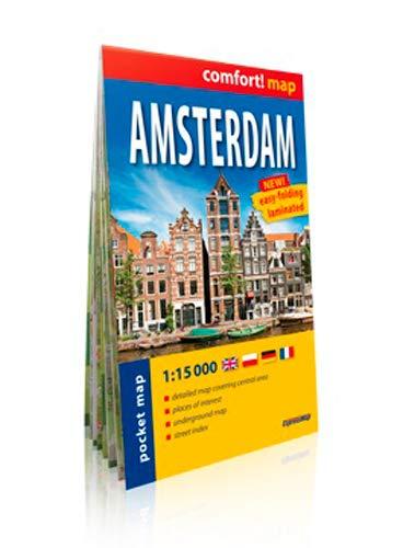 9788375468717: AMSTERDAM (GB) 1/15.000 (POCHE)