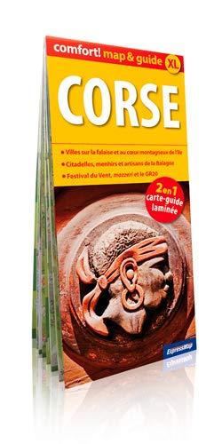 CORSE (MAP&GUIDE XL): CARTE LAMINEE