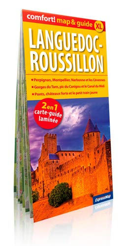 9788375468878: LANGUEDOC ROUSSILLON (MAP&GUIDE XL) LAMINE