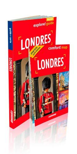 LONDRES GUIDE + CARTE: GUIDE POCKET 2 EN 1
