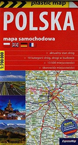 Polska - Mapa samochodowa 1:700 000