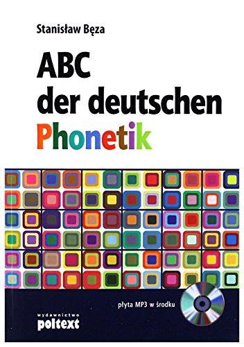 9788375611540: Abc Der Deutschen Phonetik - StanisĹaw BÄza [KSIÄĹťKA]+[CD]