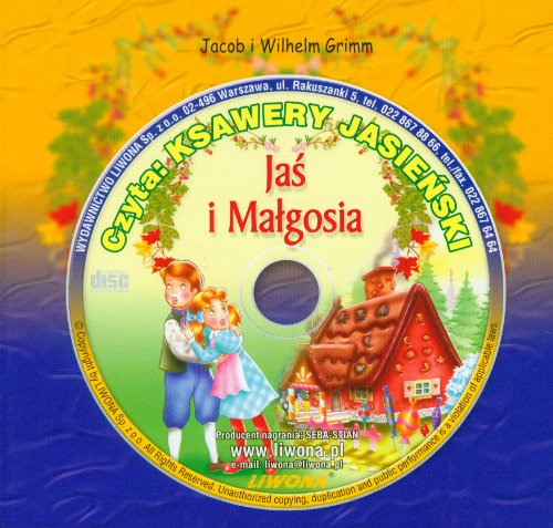 Jas i Malgosia Sluchowisko z plyta CD: Jakub Grimm, Wilhelm