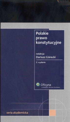 9788376013084: Polskie prawo konstytucyjne