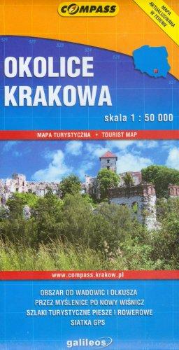 Okolice Krakowa. Mapa turystyczna 1:50000 Compass